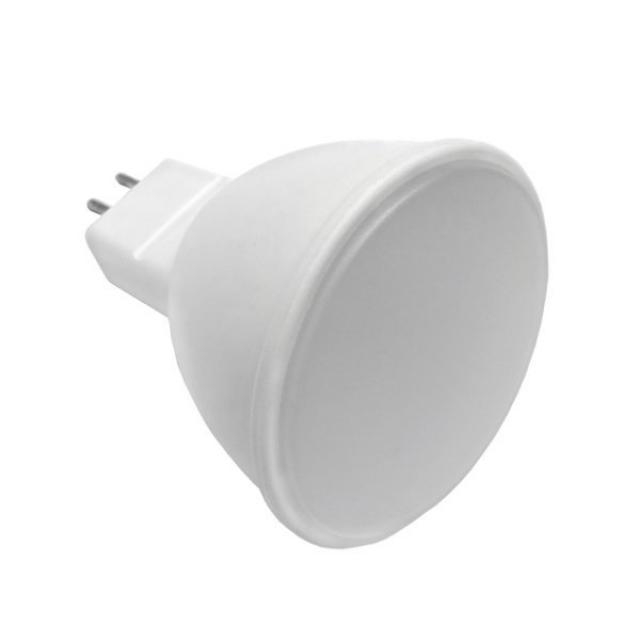 LED21 LED žárovka 5W 10xSMD2835 GU5,3 12V 400lm TEPLÁ BÍLÁ